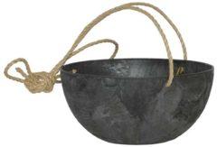Plantenwinkel.nl Artstone fiona hanging basket zwart L