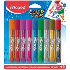 Maped Office Maped Color Peps Glitterlijm 9 Kleuren 10.5 ml