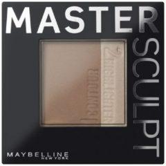Donkerbruine Maybelline Master Sculpt Contouring Palette 02 Medium Dark