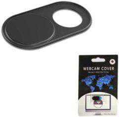 Case2go Webcam Cover - Privacy schuifje - Geschikt voor Macbook, Laptop en Tablet - Zwart