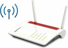 AVM FRITZ!Box 6850 LTE draadloze router Gigabit Ethernet Dual-band (2.4 GHz / 5 GHz) 3G 4G Rood, Wit