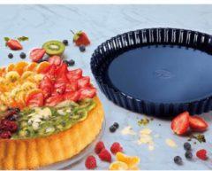 Obstkuchenform Back-Liebe Emaille Dr. Oetker Blau
