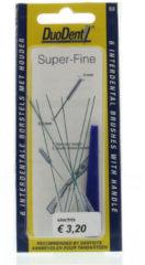Duodent Interdentaal borstel super fine 0.6 6 Stuks
