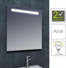 Boss & Wessing BWS LED Spiegel Tigris met Lichtschakelaar 80x80x3.1 cm (incl bevestigingsmateriaal)