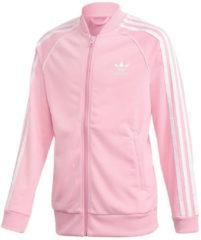 Rosa Adidas Originals Trainingsjacke »JUNIOR SUPERSTAR TRACKTOP«
