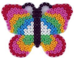Hama grondplaat vlinder (298)