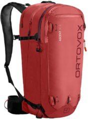 Ortovox - Ascent 30 S - Toerskirugzak maat 30 l, rood