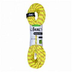 Beal - Karma 9.8 - Enkeltouw maat 60 m, geel/wit