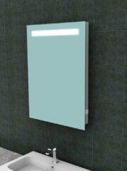 Ced'or spiegel met led verlichting + stopcontact 600x800