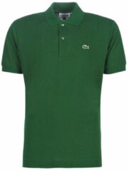Groene Lacoste Classic Fit Piqué Polo Heren - Maat 3XL