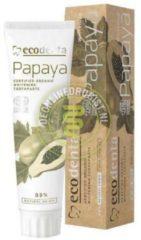 Ecodenta Ecodenta Cosmos Organic Whitening Tandpasta Papaja 100ml 100 Ml