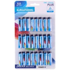 Xenos Grundig power+ batterijen - AA - 24-pack