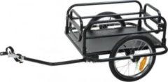 Fahrrad Anhänger Fold von M-Wave Lastenanhänger Fahrradanhänger Gepäckanhänger