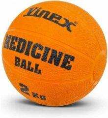 Vinex ESAM® Robuuste Medicijnbal - Medicine bal - Rubber - Oranje - 2 kg