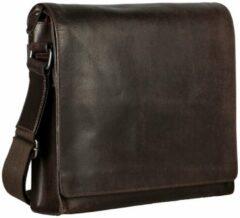 Bruine Leonhard Heyden Dakota Shoulder Bag M brown Herentas
