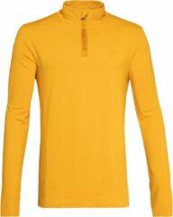 Gele Protest WILL Fleece Heren - Dark Yellow - Maat XL