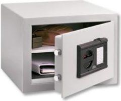 Burg-Wächter Möbeltresor City-Line C1E FS elektronisches Zahlenschloss SecuTronic mit integriertem Fingercan-Modul, VdS zertifiziert Klasse 1