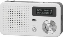 Imperial Dabman 13 - draagbare DAB+ / FM-radio met MP3-weergave - wit/zilver