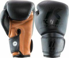 King Pro Boxing King (kick)bokshandschoenen KPB Star 3 Zwart/Bruin 12oz