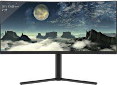 LC Power LC-M29-UW-UXGA-100-C Gaming monitor 73.7 cm (29 inch) Energielabel B (A+++ - D) 2560 x 1080 pix UW-UXGA 6 ms Audio, stereo (3.5 mm jackplug), HDMI,