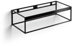 Clou Hammock Frame Kokerprofiel Kast Zonder Bodem RVS Mat Zwart 110x50.3x30cm