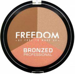 Huidskleurige Freedom Makeup Bronzed Professional - Shimmer Lights