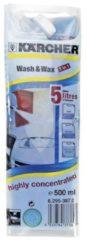 Karcher Kärcher Wasch und Wax Autoreinigerkonzentrat, 500ml für Hochdruckreiniger 6.295-387.0, 62953870