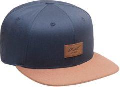 Reell - Suede Cap - Pet maat One Size, zwart/blauw/grijs