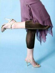 Gouden Bonnie Doon capri lurex legging Large