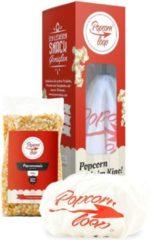 Rode Popcorn Loop Keukenbenodigdheden Popcornmaker Met extra hoes - Over elke pan te plaatsen.