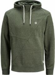 Groene JACK & JONES Gedetailleerde Sweatshirt Heren Green