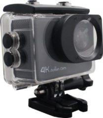 Zwarte Denver ACK-8062W / 4K Action cam / Wi-Fi functie / 130º kijkhoek / Waterproof / Meegeleverde accessoires