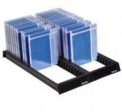 Hama 00048000 CD-flipper 44 CDs/DVDs/Blu-rays Kunststof Zwart 1 stuks (b x h x d) 288 x 348 x 29 mm