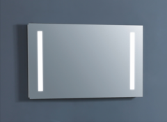 Badstuber Olas spiegel met LED verlichting 100x60cm