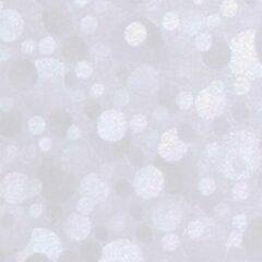 Gekkofix Plakfolie - Kleeffolie - Kleefplastiek - Plakplastiek - 90 cm x 15 meter - Grote rol - Stippen - Transparant