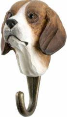 Bruine Wildlife Garden Kapstok Hond uit hout