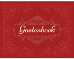 Rode Deltas Gastenboek (bordeaux)