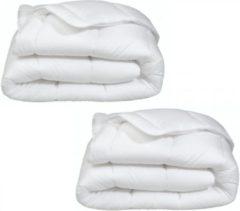 Witte Moonlight - Dekbedden Combi Deal! Moonlight Dekbed 200x220 2 Stuks