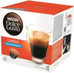 Nescafe Dolce Gusto Dolce Gusto Lungo Decaffeinato 3 x 16 cups: Cups & Capsules