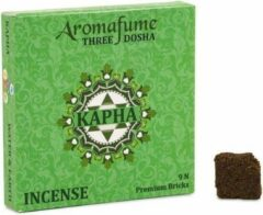 Bruine Aromafume Wierookblokjes Kapha dosha