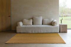 LIGNE PURE Enjoy – Vloerkleed – Tapijt – handgeweven – wol – eco – modern – Multi Geel Streep - 170x240