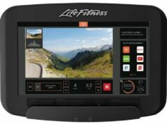 Life Fitness Platinum Discover SE3 Lifecycle Hometrainer Arctic Silver