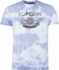 """Marineblauwe Top Gun™ Top Gun ® T-shirt """"American Icon"""" Camouflage Navy"""