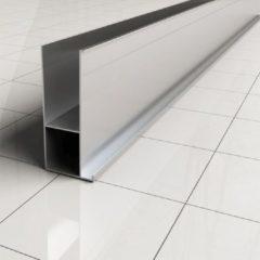 Douche Concurrent Verbredingsprofiel Wiesbaden Aluminium 3x200cm