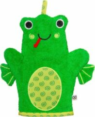 Zoocchini washandje Flippy the Frog Kikker groen