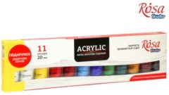 Rosa Studio Acrylverf Set 11x20 ml