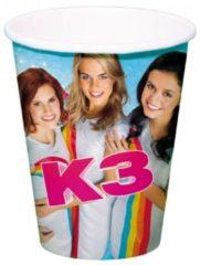Studio 100 16x Bekers van de bekende meidengroep K3! - thema feest drinkbekers