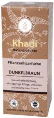 Khadi Plantaardige haarkleuring00 g, donkerbruin 100 g