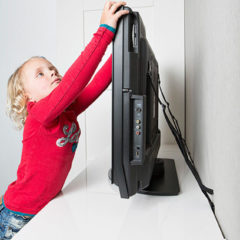 Zwarte Secu Junior TV beveiligingsband (2) 8050.001.14