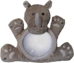 Grijze MrLuca Little Luca - Luca Spiegel Autospiegel - Nijlpaard Rhino